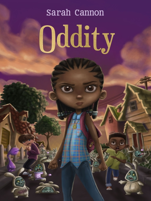 Title details for Oddity by Sarah Cannon - Wait list