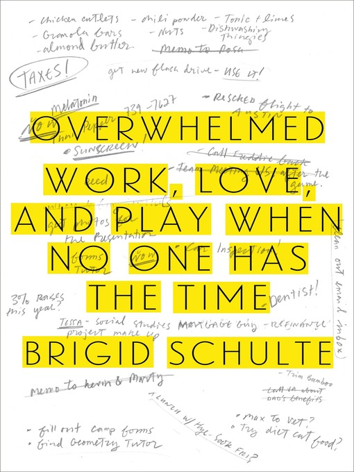 Title details for Overwhelmed by Brigid Schulte - Wait list