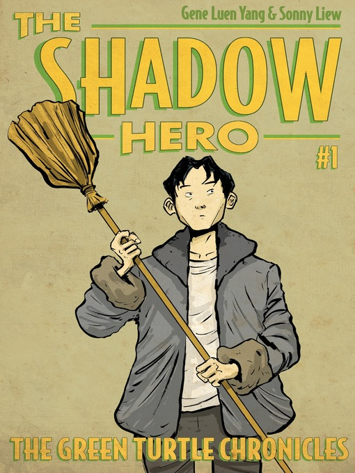 Cover of The Shadow Hero #1