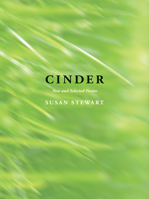 Title details for Cinder by Susan Stewart - Wait list