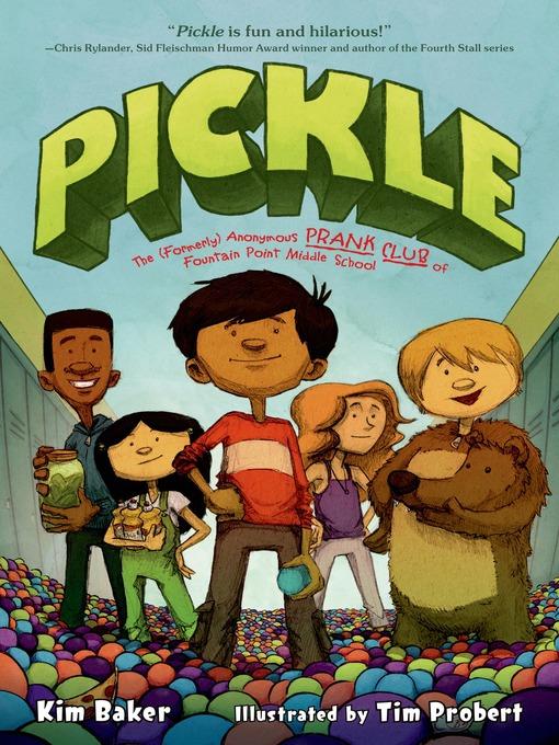 Title details for Pickle by Kim Baker - Wait list
