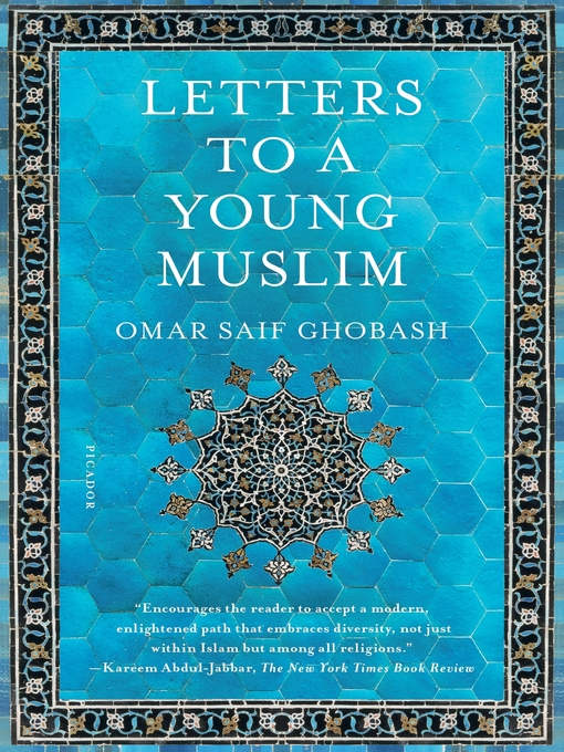 Cover of Letters to a Young Muslim