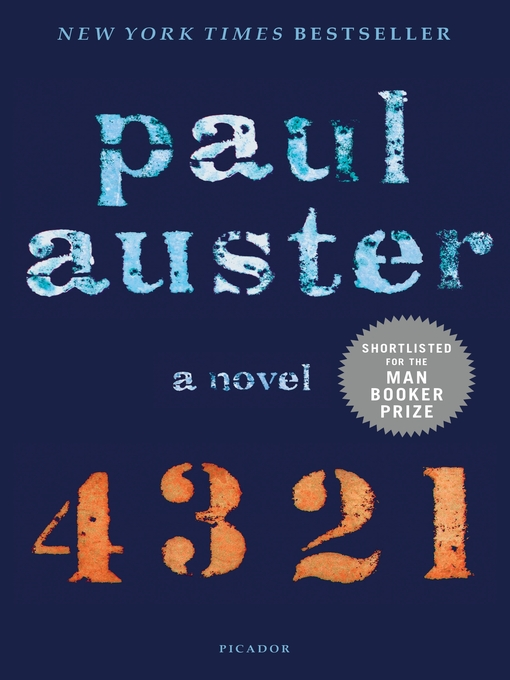 Title details for 4 3 2 1 by Paul Auster - Wait list