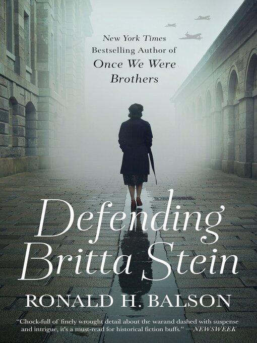 Title details for Defending Britta Stein by Ronald H. Balson - Wait list