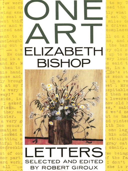 an analysis of a heart break in one art a poem by elizabeth bishop Technical analysis of one art literary devices and the technique of elizabeth bishop this is another of those thoughtful, intensely internal poems that doesn't have a real setting (after all, we don't know what elizabeth bishop's mental landscape looked like, thou.