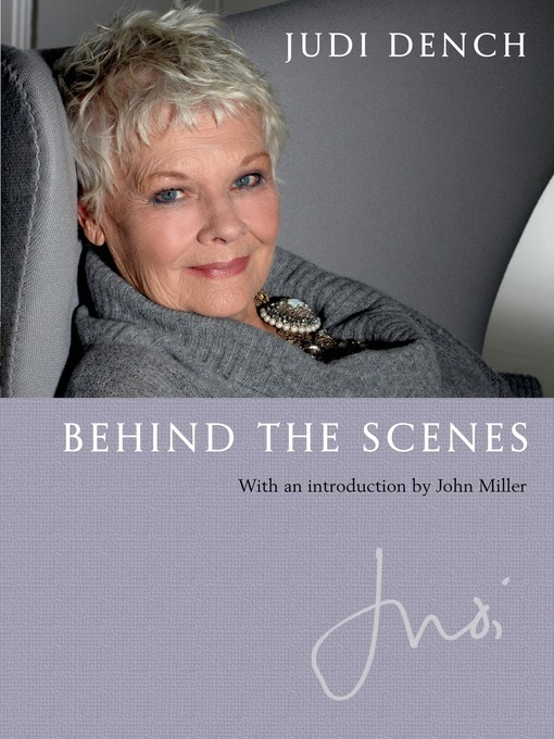 Title details for Behind the Scenes by Judi Dench - Available