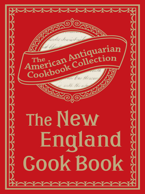 Cover of The New England Cook Book