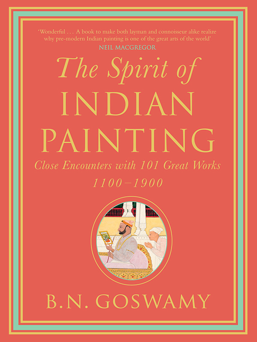 Cover of The Spirit of Indian Painting