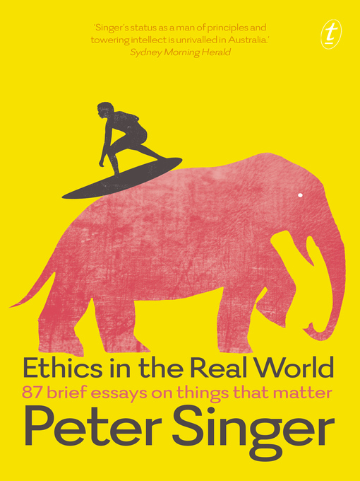 one world by peter singer globalization essay Singer argues not for the wild global redistribution schemes suggested by his previous writings but for big increases in foreign aid and the lowering of western trade barriers so many people have written about the economic meaning of globalization in one world peter singer explains its moral meaning.