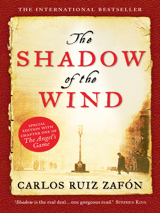 Title details for The Shadow of the Wind by Carlos Ruiz Zafon - Available