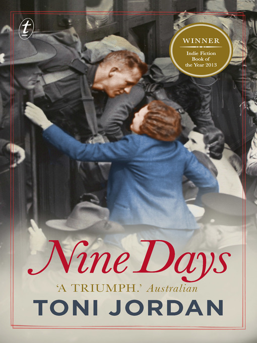 Title details for Nine Days by Toni Jordan - Available