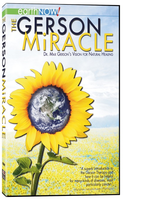 Cover of The Gerson Miracle