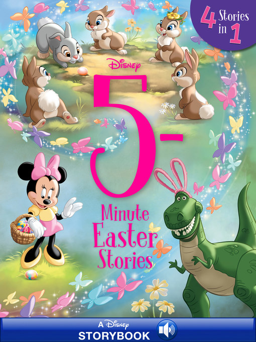 Title details for 5-Minute Easter Stories by Disney Books - Wait list