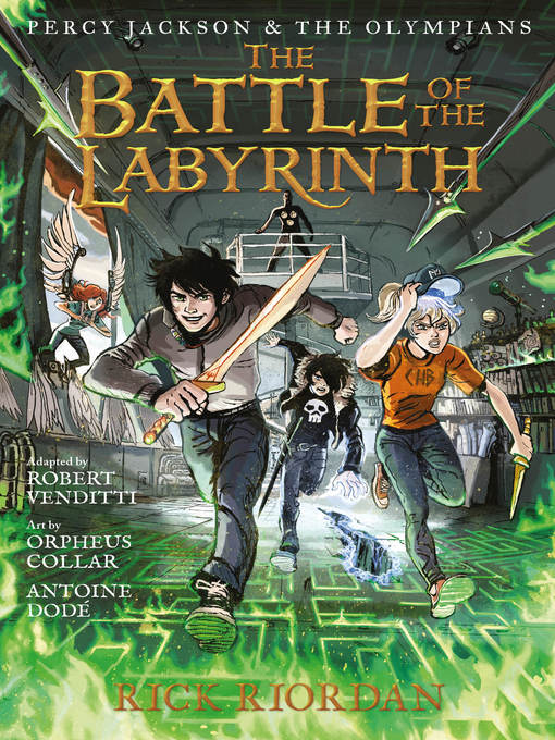 Title details for Battle of the Labyrinth by Rick Riordan - Wait list