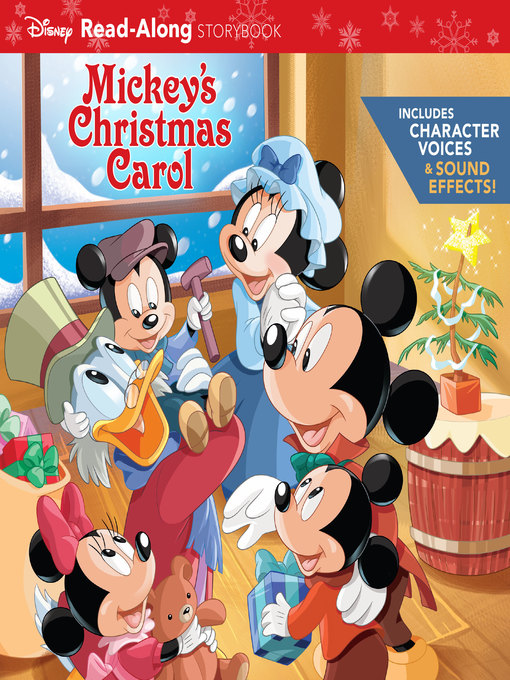 title details for mickeys christmas carol read along storybook by disney book group available - Mickey Christmas Carol