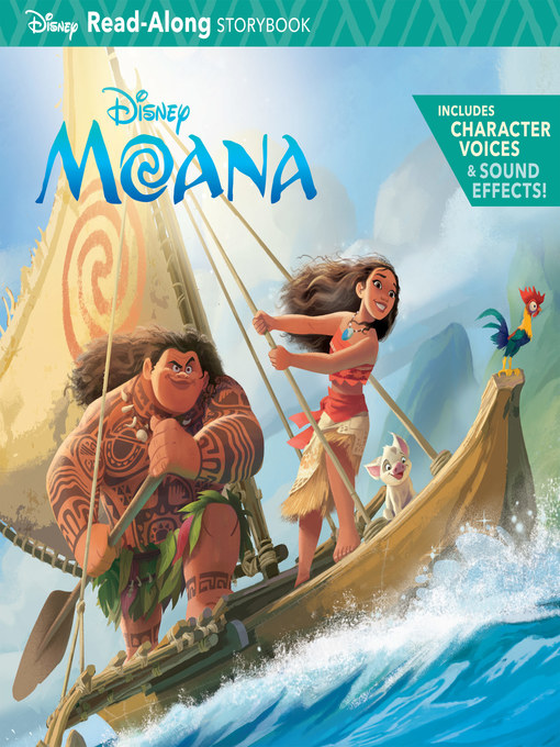 Cover of Moana Read-Along Storybook