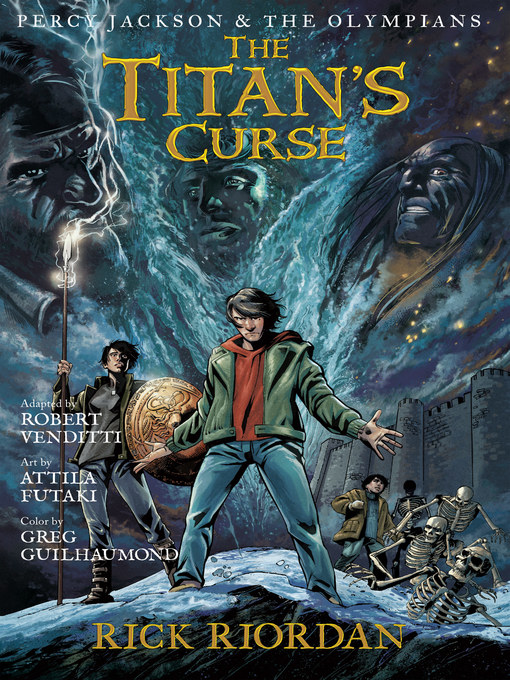 Cover of The Titan's Curse: The Graphic Novel