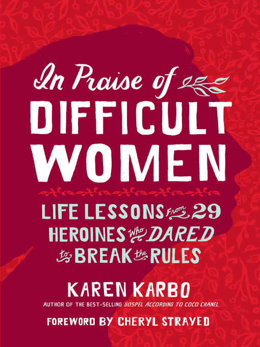 Cover image for In Praise of Difficult Women