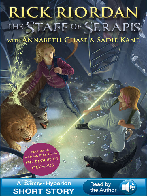 The Staff of Serapis Percy Jackson & The Kane Chronicles Crossover Series, Book 2