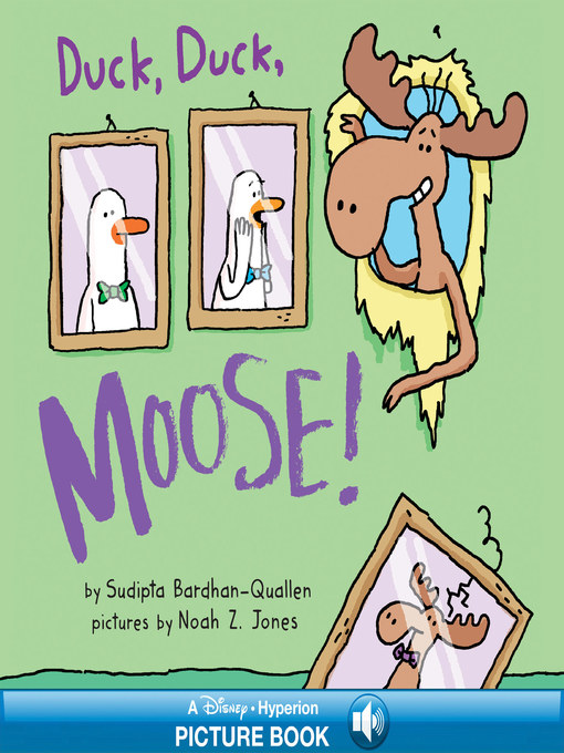 Cover of Duck, Duck, Moose!