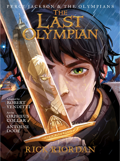 Title details for The Last Olympian: The Graphic Novel by Rick Riordan - Available