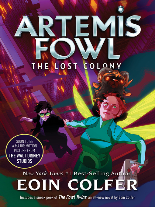 Title details for The Lost Colony by Eoin Colfer - Wait list