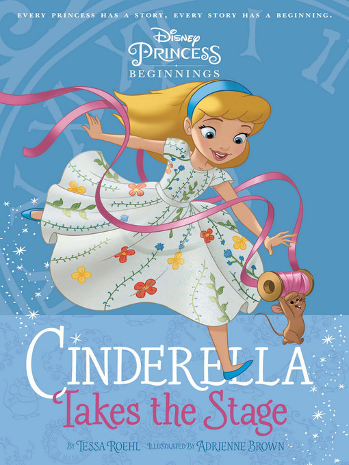 Cover image for book: Cinderella Takes the Stage