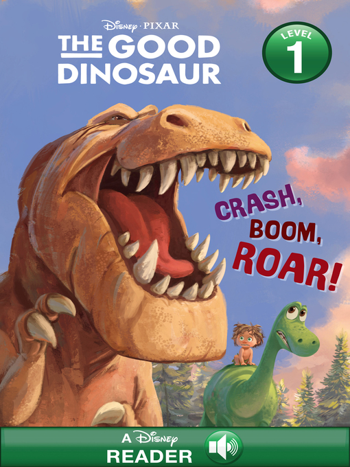 Titelansicht von Crash, Boom, Roar!: A Disney Reader with Audio (Level 1)
