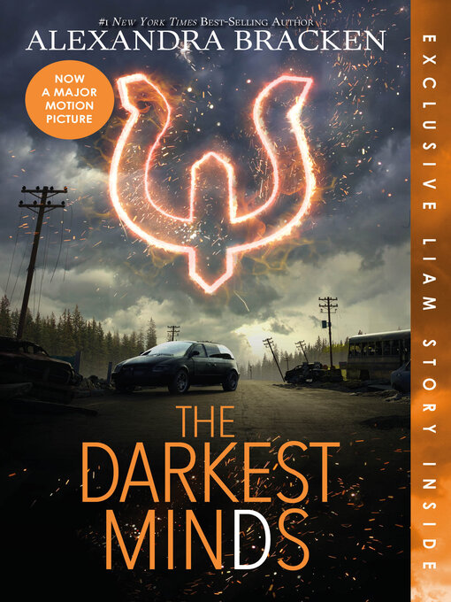 Cover image for book: The Darkest Minds
