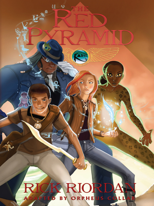 תמונה של  The Red Pyramid: The Graphic Novel