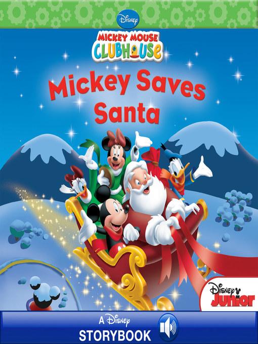 cover of mickey saves santa