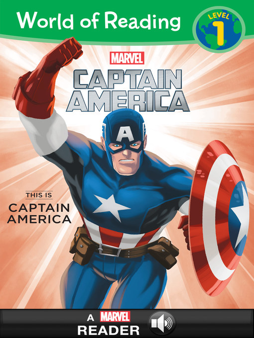 Cover of World of Reading Captain America