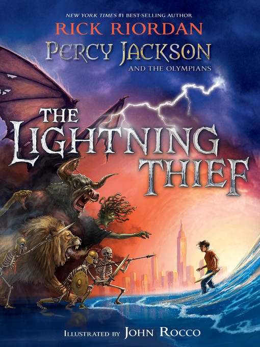 Title details for The Lightning Thief by Rick Riordan - Wait list
