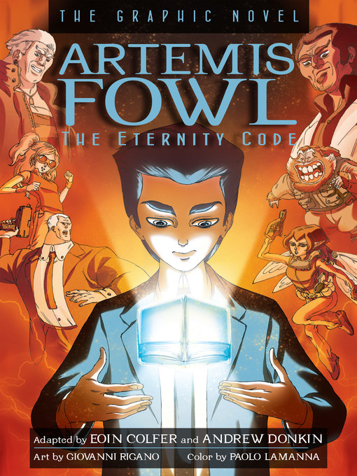Title details for The Eternity Code Graphic Novel by Eoin Colfer - Available