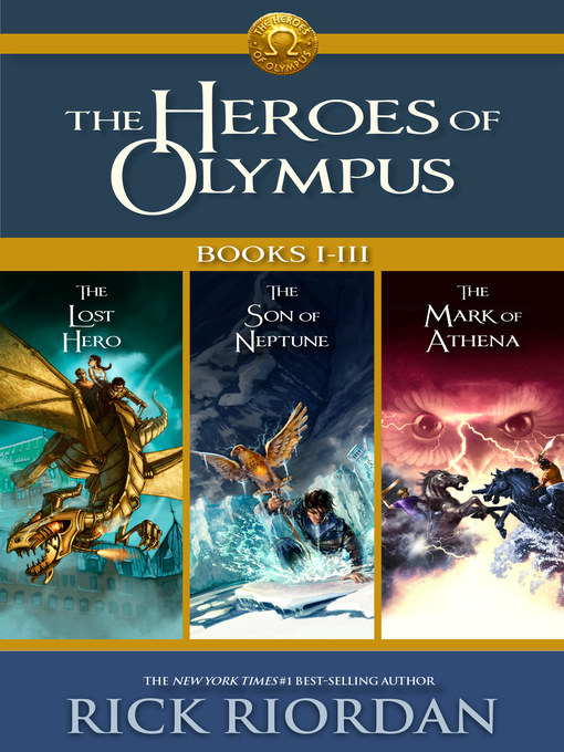 Title details for The Heroes of Olympus, Books I-III by Rick Riordan - Wait list