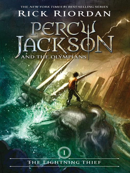Percy Jackson and the Olympians book cover Opens in new window
