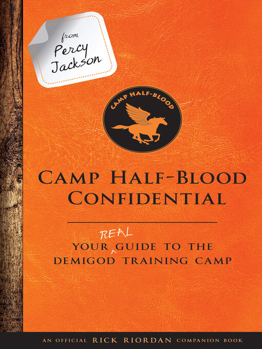 Cover of Camp Half-Blood Confidential
