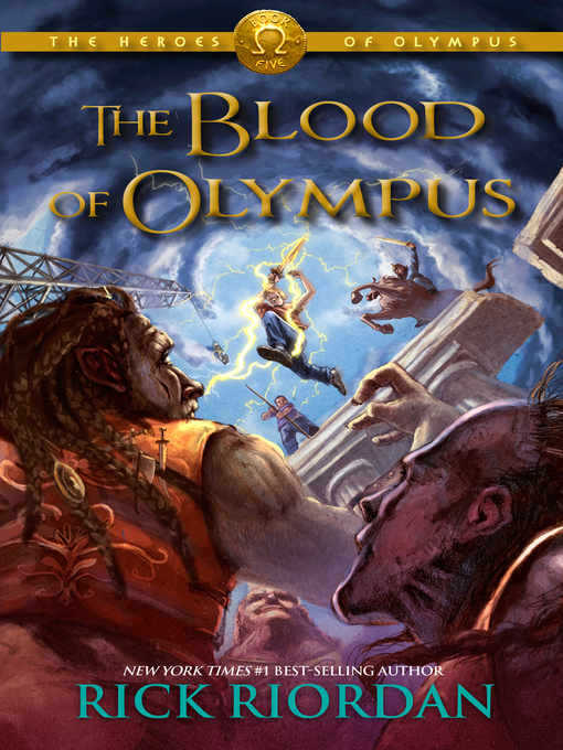 Cover image for book: The Blood of Olympus
