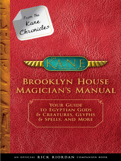 Title details for Brooklyn House Magician's Manual by Rick Riordan - Available