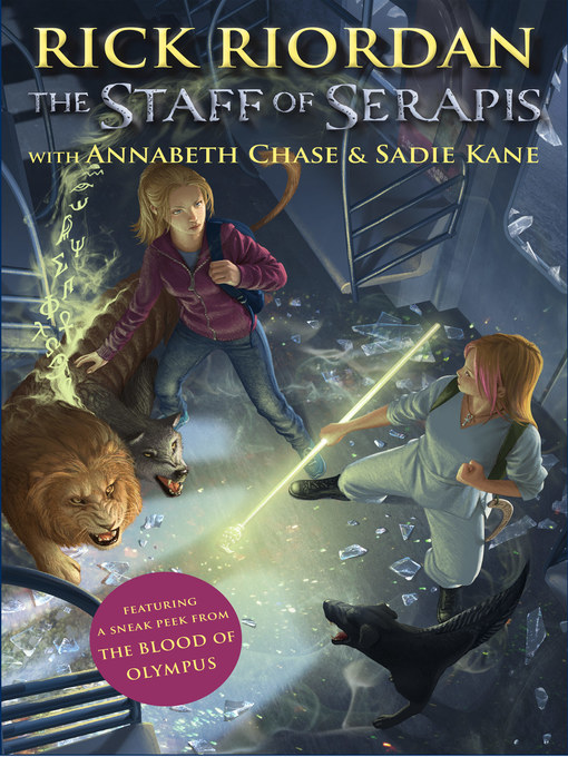 Title details for The Staff of Serapis by Rick Riordan - Available