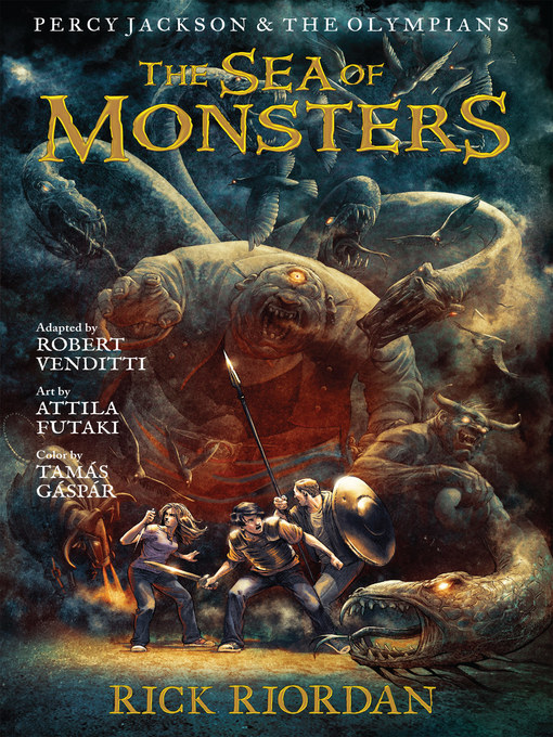 Cover of The Sea of Monsters: The Graphic Novel