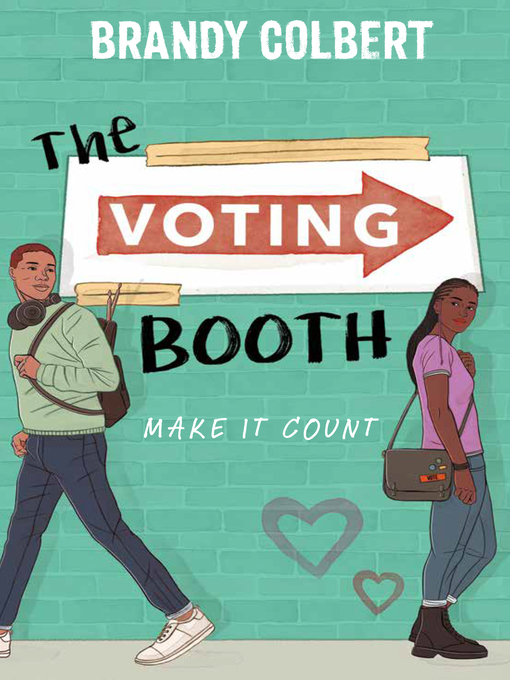 The Voting Booth by Brandy Colbert   Book Cover