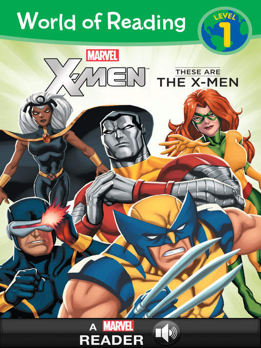 Title details for World of Reading X-Men by Marvel Press - Available