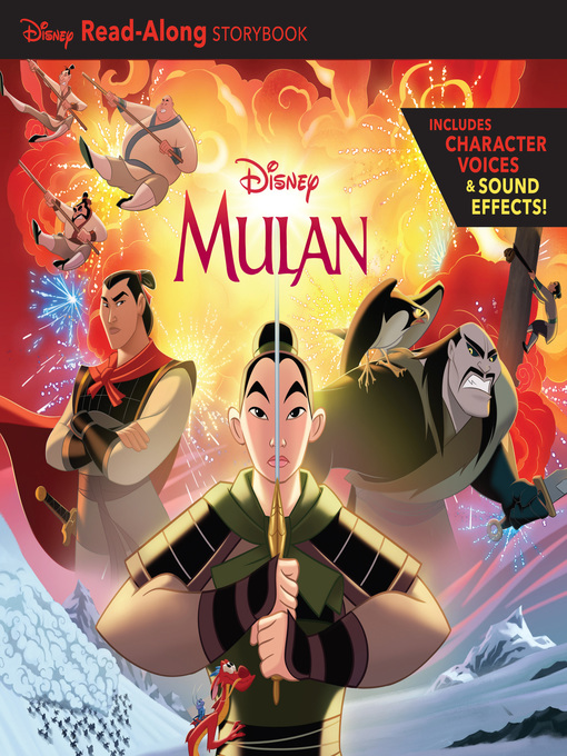 Title details for Mulan Read-Along Storybook by Disney Books - Available