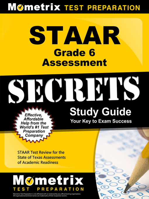Title details for STAAR Grade 6 Assessment Secrets by STAAR Exam Secrets Test Prep Team - Available