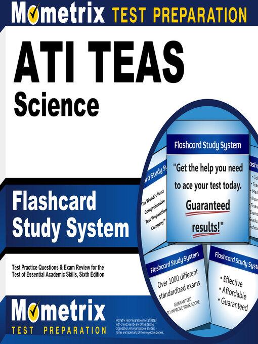 Title details for ATI TEAS Science Flashcard Study System by Mometrix Nursing School Admissions Test Team - Wait list