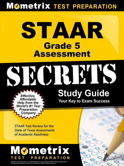 Title details for STAAR Grade 5 Assessment Secrets by STAAR Exam Secrets Test Prep Team - Available
