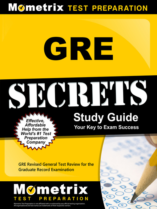 Title details for GRE Secrets Study Guide by GRE Exam Secrets Test Prep Team - Wait list