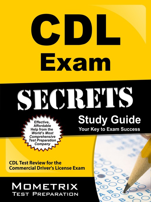 Title details for CDL Exam Secrets Study Guide by CDL Exam Secrets Test Prep Team - Available