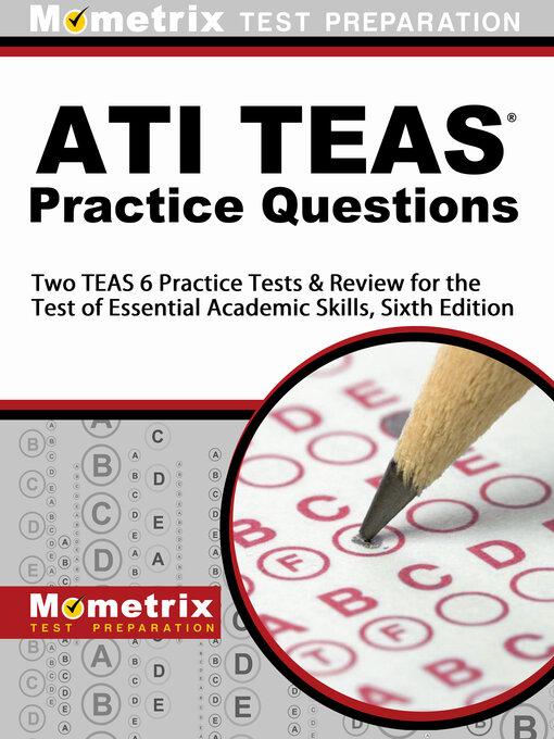 Title details for ATI TEAS Practice Questions by Mometrix Nursing School Admissions Test Team - Wait list